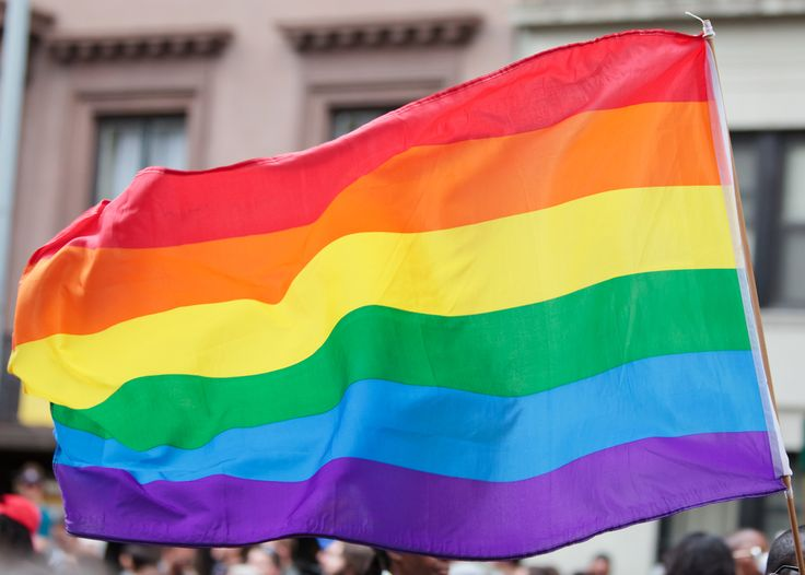 The rainbow flag serves as a symbol of dominance for the LGBT movement.