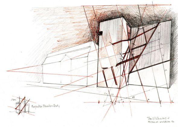 Los dibujos de Daniel Libeskind - Noticias de Arquitectura - Buscador de Arquitectura