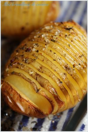 Pomme de terre rotie à la suedoise