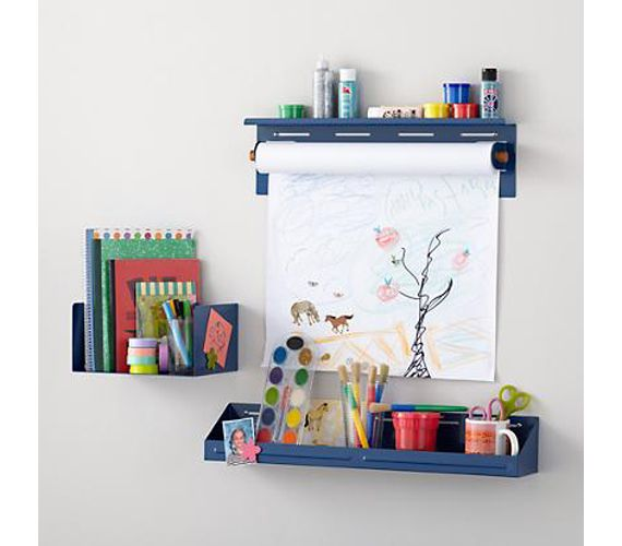 Wall Mounted Bin Paper Towel Holder Easel That Doesn T