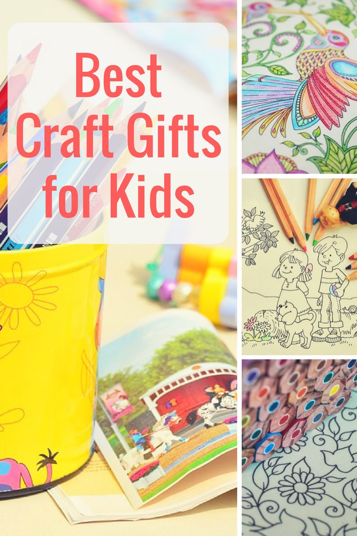 Awesome craft gifts for kids to help them grow. DIY craft kits for kids.