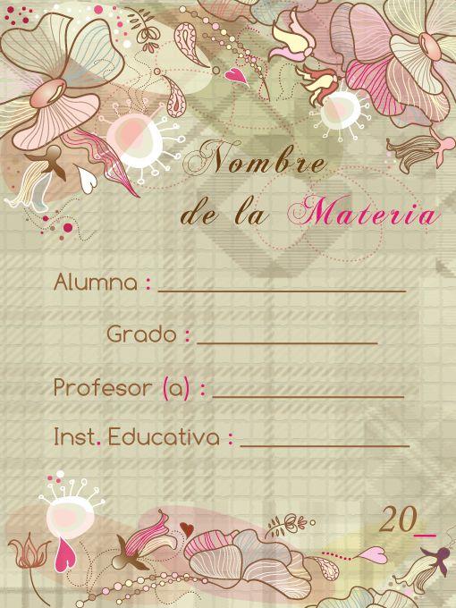 Caratulas Escolares 2011 - Made in Lima_Peru on Behance