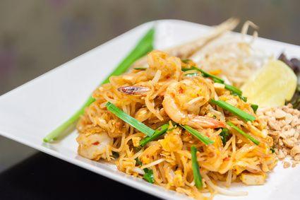 Rezept für Pad Thai mit Shirataki-Nudeln