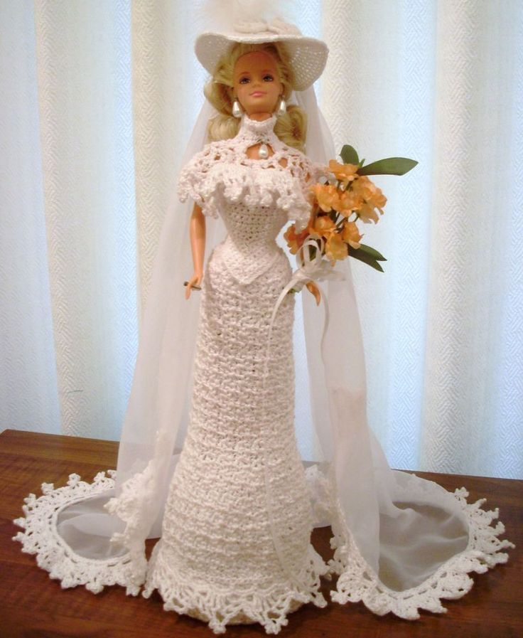BRIDE DOLL - BARBIE(2-022) #DollClothingAccessories