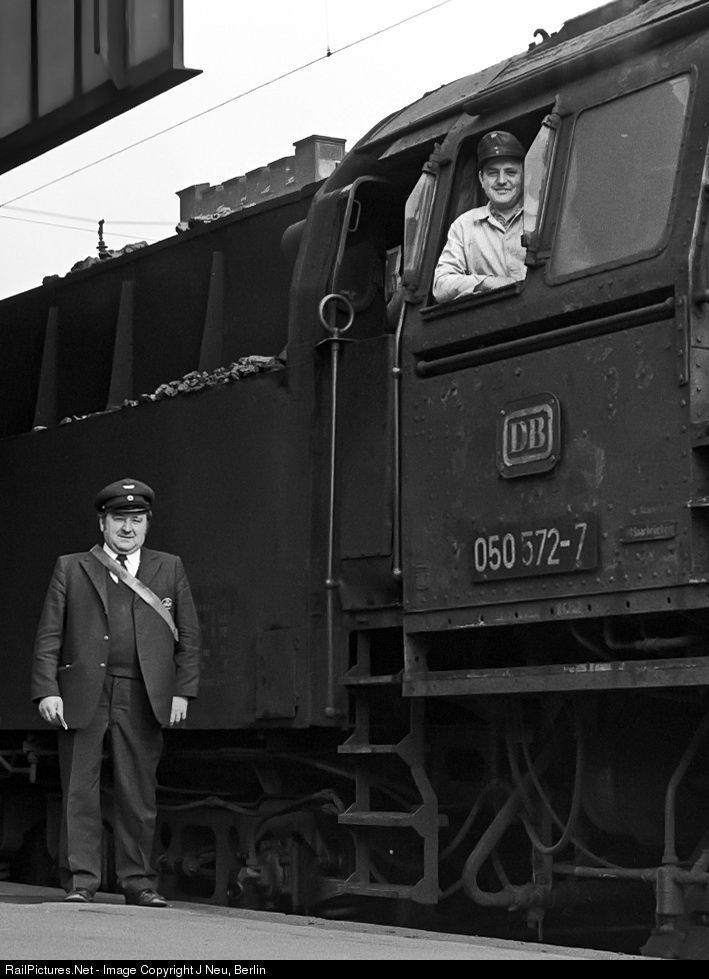RailPictures.Net Photo: 50572 Deutsche Bundesbahn Steam 2-10-0 at Saarbrücken, Germany by J Neu, Berlin
