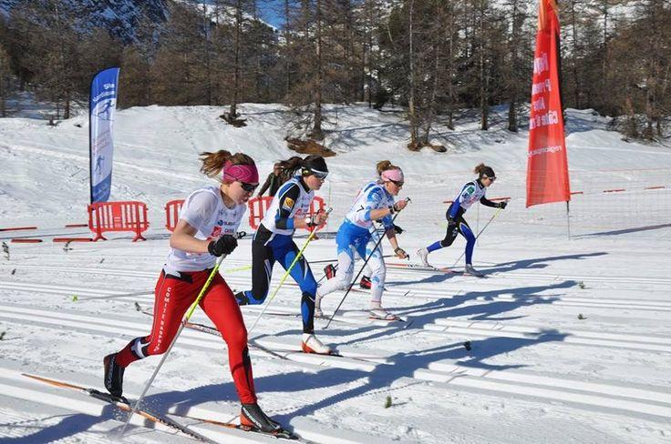 Finales du Nordic Skier Cross dans le Queyras  à Aiguilles
