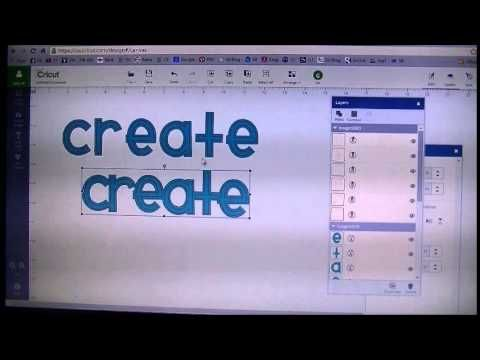 Cricut Explore Outlining with Markers - YouTube