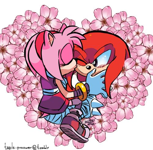 amy rose in love with knuckles!! sonic comic dub animation compilation - 906×888