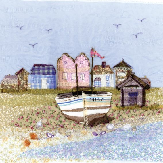 FPR23 Aldeburgh - Limited Edition Prints from Abigail Mill Embroidery