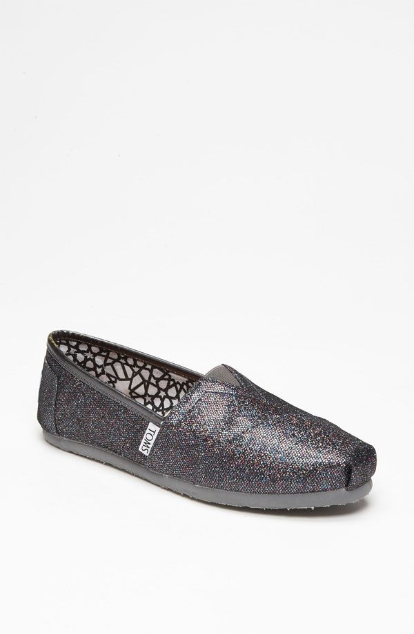 TOMS 'Classic - Glitter' Slip-On... this was the most