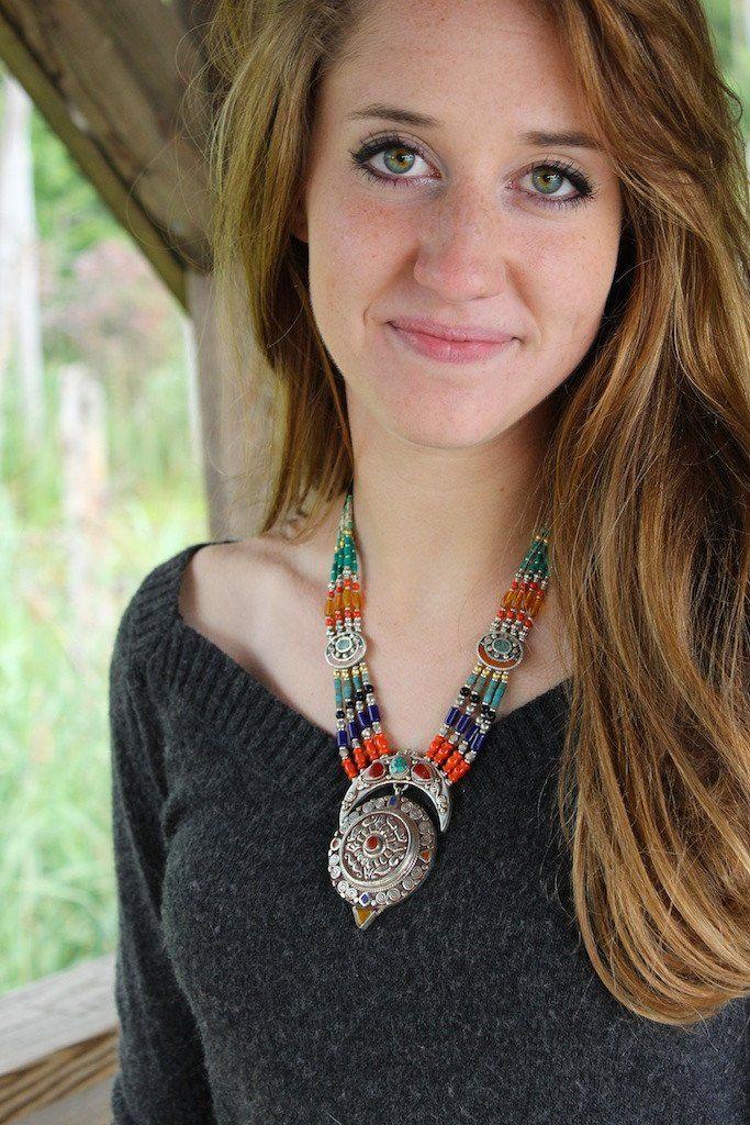 Lhatse Tibetan Necklace