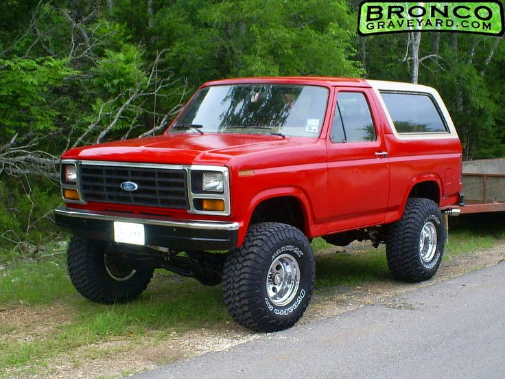 Lifted Ford Trucks >> 1986 Ford Bronco. My dad drove one off these. I loved it, wish I still had it.   Vehicles ...