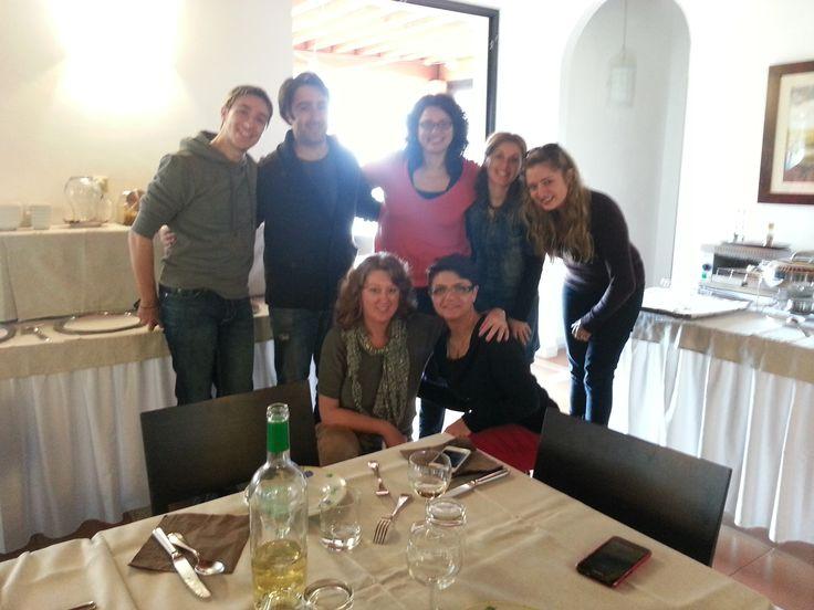 Foto di gruppo @Cowinning a @Villa Acquaviva