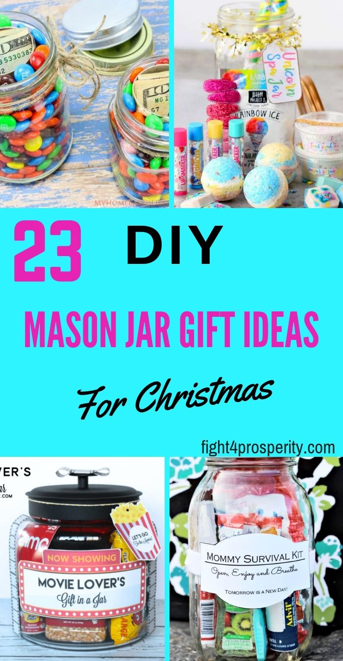 7d1e2806c89c 23 DIY Mason Jar Gift Ideas for Christmas that won t break your bank. These  handmade diy Christmas gifts can be given to your loved ones.
