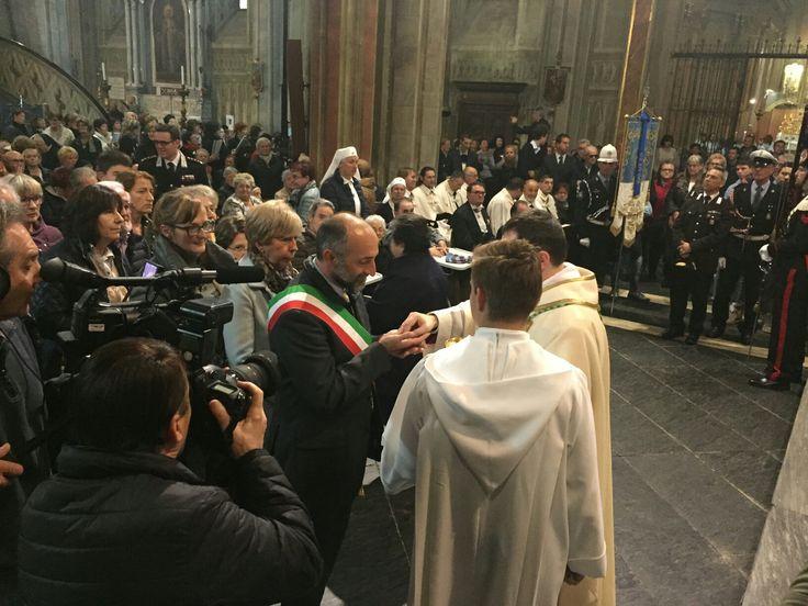 Saluzzo - Insediamento nuovo vescovo