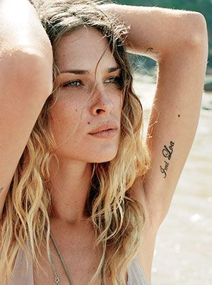 How to get surfer girl hair: Erin Wasson's ropy waves | allure.com