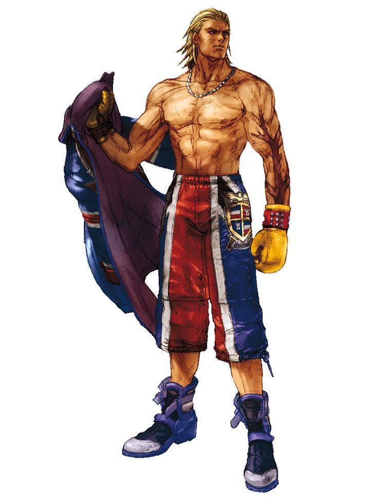Tekken-Steve Fox.