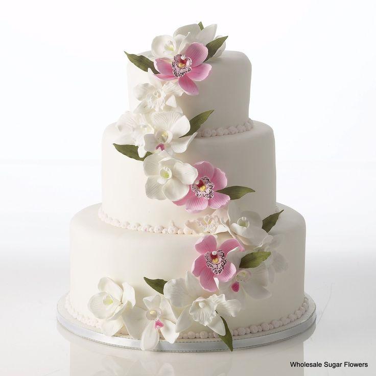 Wedding Cake Sugar Flowers: 11 Best Pre-made Gumpaste Flower Cake Kits Images On