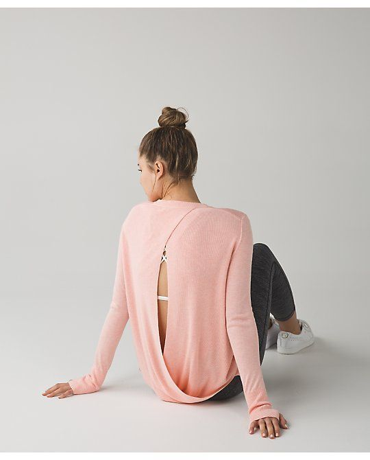 lululemon minty-pink bring-it-backbend-sweater
