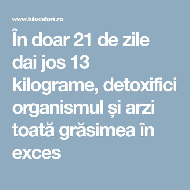 În doar 21 de zile dai jos 13 kilograme, detoxifici organismul și arzi toată grăsimea în exces
