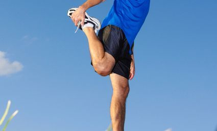 Middle-aged man in running shorts 'asking for it' with provocative outfit