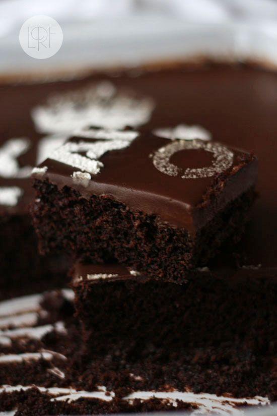 Torta de chocolate sencilla SIN huevos ni lacteos !!!!!