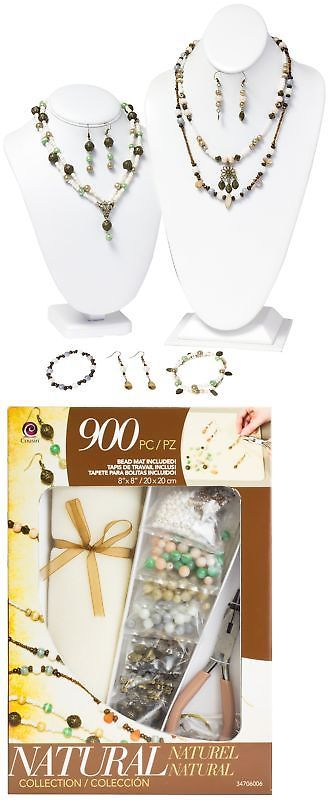 Other Jewelry Making Kits 162102: Jewelry Basics Class In A Box Kit Naturals Glass New -> BUY IT NOW ONLY: $31.18 on eBay!