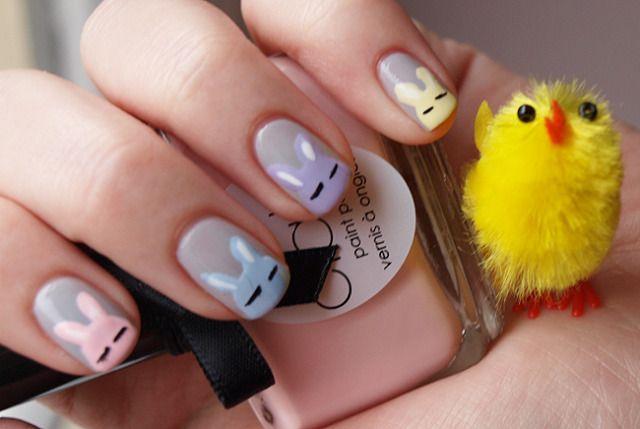 Easter nail art #misslipgloss