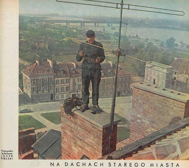 Fotografia pochodzi z tygodnika Stolica nr 23 rok 1962 dzień 10 czerwca.