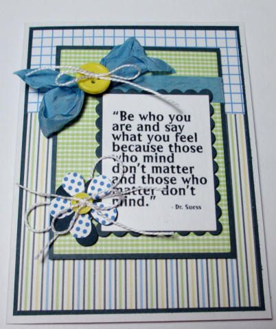 Dr Suess Saying To Cheer Someone Up by LoveInBloomCreations, $3.00