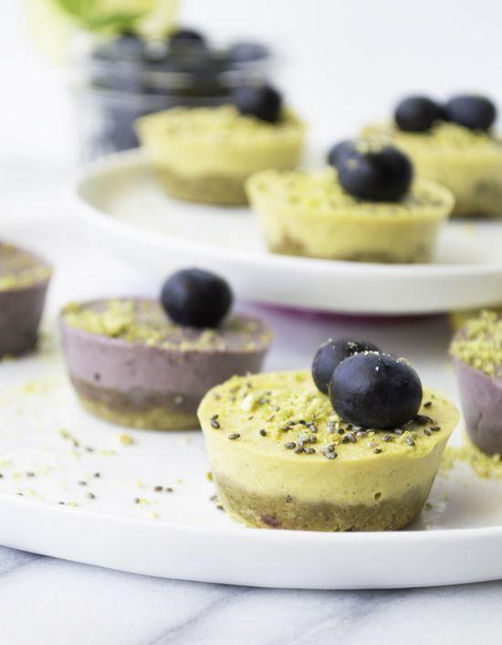 Vegan Spiced Mango & Cherry Coconut Mini Tarts's image