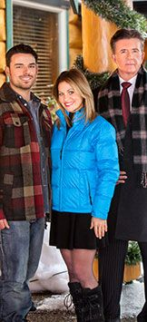 #ChristmasKeepsake Week - Let It Snow - on Hallmark Channel!