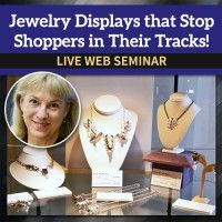 Jewelry Displays that Stop Shoppers in Their Tracks! – Jewelry Making | Interwea…