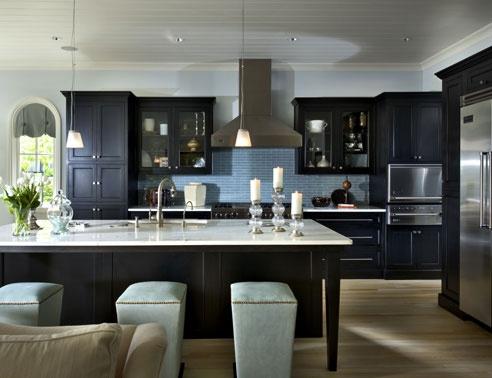 dark cabinets House Design Pinterest