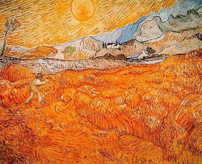 Vincent Van Gogh - Post Impressionism - Saint REMY - Le Faucheur