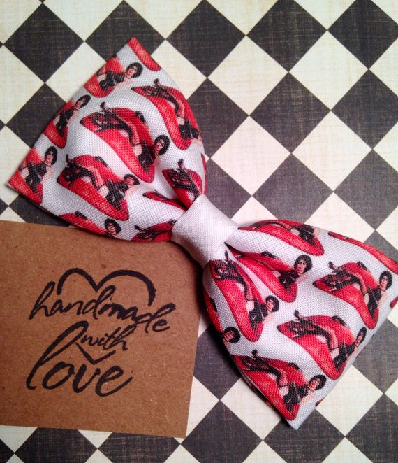 Rocky Horror Picture Show inspired hair bow by MaryCakesx on Etsy, $7.00