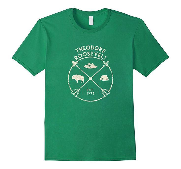 Theodore Roosevelt National Park Shirt- North Dakota Gift