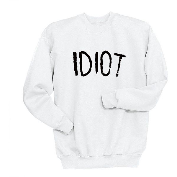 Idiot Sweatshirt Michael Clifford 5 Sos Sweat Shirt Band Shirt Crew... (79.185 COP) ❤ liked on Polyvore featuring tops, hoodies, sweatshirts, black, women's clothing, black crew neck shirt, checkered shirt, black checkered shirt, long black shirt and long sweatshirt