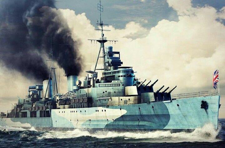 BRITSH CRUISER HMS BELFAST