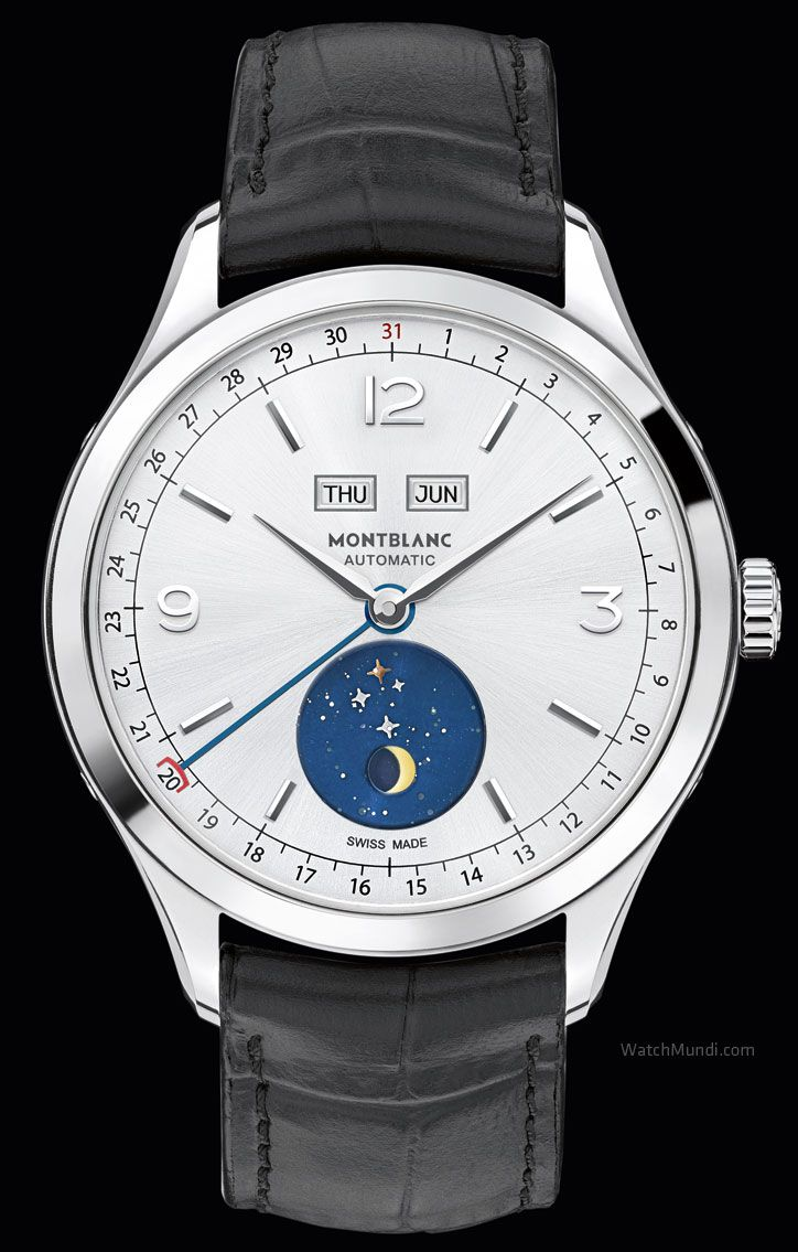 Montblanc Heritage Chronométrie Quantième Complet Vasco