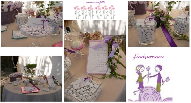 a great range of elegant ideas for your flower decorations... and not only!!