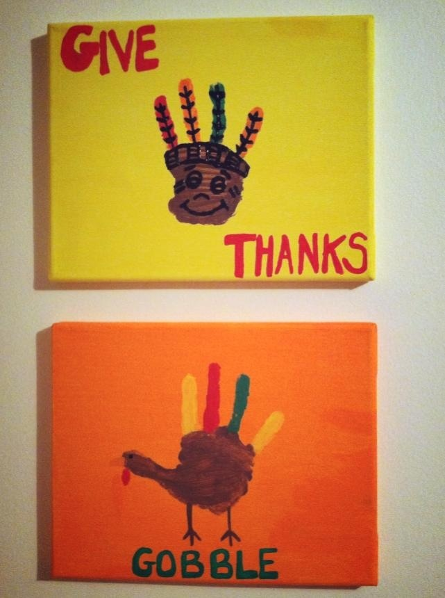 Could use the give thanks craft for thanks giving