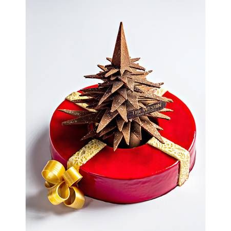 buche de noel 2015 buche le cadeau hotel the westin paris vendome - Decoration Buche De Noel