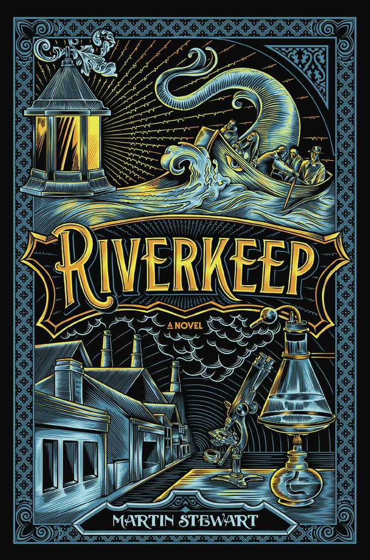 #CoverReveal: Riverkeep - Martin Stewart