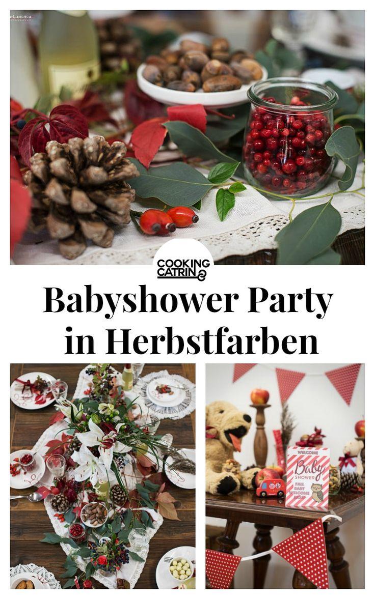 Babyparty, Babyshower, Babyshower Party, herbstlich, dekoration, dekoideen, DIY, alkoholfrei, Rotkäppchen Sekt, schmücken, herbstfarben,