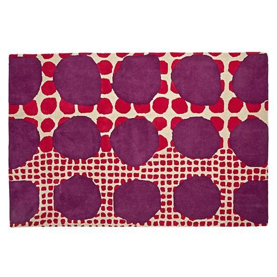 Multi Dot Pink U0026 Purple Rug