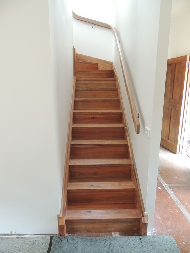 Spotted gum staircase premiumtimberprojects.com.au