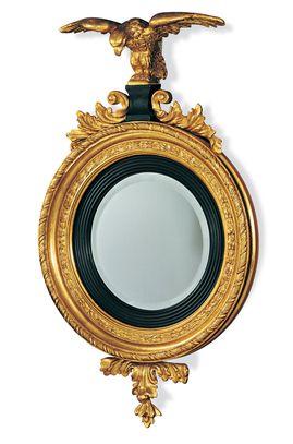 Зеркало, дерево, металл, Francesco Molon.