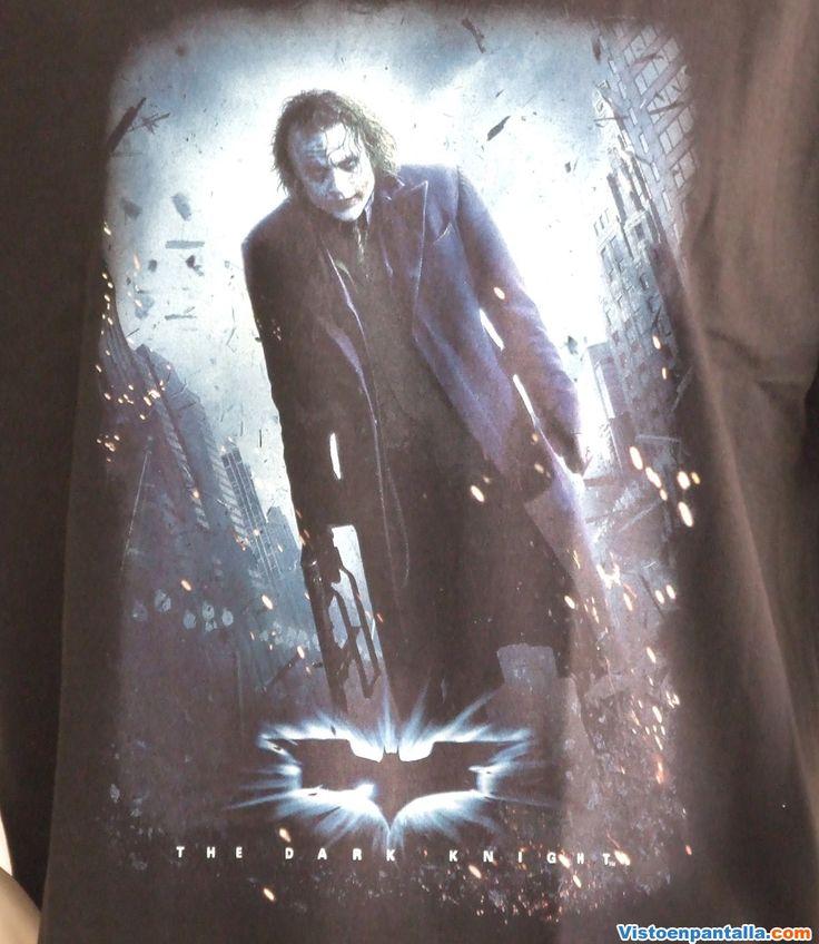 Camiseta Joker armado. Batman The Dark Knight