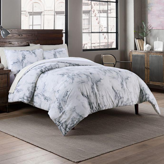 Garment Washed 3 Piece Printed Comforter Set Bed Bath Beyond Comforter Sets Bed Comforter Sets Queen Comforter Sets